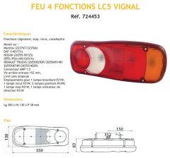 FEU 4 FONCTIONS LC5