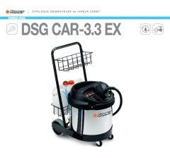 Générateur de vapeur sèche DSG CAR-3.3 EX-Electrique-Comet Réf:92040003