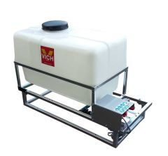Pulvérisateur 12 V multi-usages 200 litres sur berceau pompe 4,1 bars 26,5 l/min
