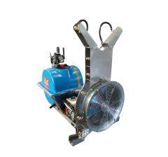 Atomiseur à moteur auxiliaire avec tôlerie hors-sol