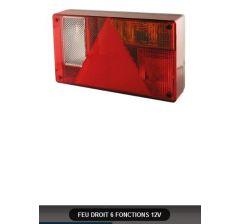 FEU DROIT 6 FONCTIONS 12V