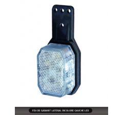 FEU DE GABARIT LATERAL BICOLORE GAUCHE LED