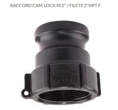 RACCORD CAM-LOCK M 2'' / FILETE 2''NPT F