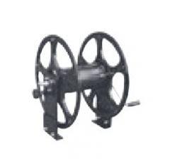 Enrouleur haute pression 100 bar max pour 50 m de flexible 1/2 Ø20