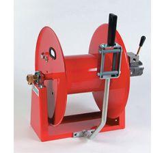 Enrouleur haute pression hydraulique avec guide tuyau manuel