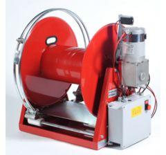 Enrouleur haute pression électrique 12V avec guide tuyau automatique et  télécommandé