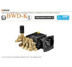 Pompe  BWD-K 2020 E à pistons triplex-Comet-G:5/8-Ref: 65210450