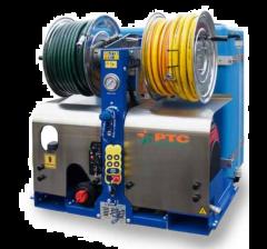 Hydrocureuse/Nettoyeur haute pression radiocommandée eau froide pour nettoyage, l'hydro-sablage et le curage,WHALE