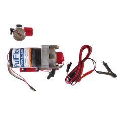 Pompe électrique 12V 8.3L/MIN 4.8 Bars avec régulateur