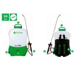 Pulvérisateur 12 volts électrique à dos 16 litres