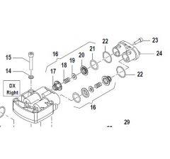 Clapet pompe APS 31-41-Repère: 16-Réf: 12200052 à l'unité