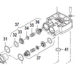 Clapet pompe APS 51-61-71 et 96 - Réf: 12200035 à l'unité
