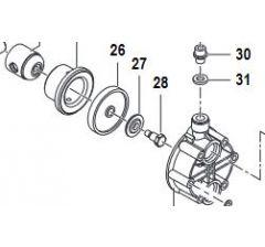 Coupelle membrane pompe MC 8 et MC 18