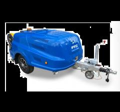 nettoyeur haute pression eau froide pour nettoyage, l'hydro-sablage et le curage,CTR-C 43/170,tracté
