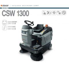 Balayeuse CSW 1300 autoportée Diesel -Comet-Réf:9302000