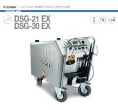 Générateur de vapeur sèche professionnel-DSG-30 EX-Comet-Réf:92040007