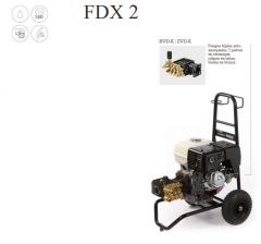 Nettoyeur haute pression-FDX 2 16/210- HondaGX340 Ref:90200308