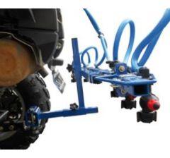 Support de fixation sur boule d'attelage Quad
