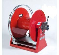 Enrouleur haute pression hydraulique avec guide tuyau automatique