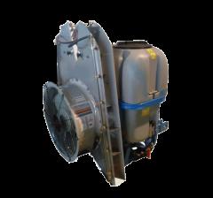 Atomiseur turbine haute Ø 600 MM porté 3 pts électrovannes 2 voies