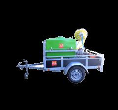 Pulvérisateur thermique 400 litres trainé, arrosage