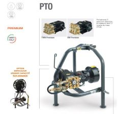 Nettoyeur haute pression sur prise de force et son chassis porté 3 points-PTO- Réf:90450002-