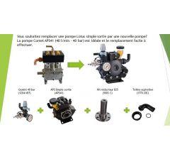 Kit de remplacement pompe Lotus vers APS41