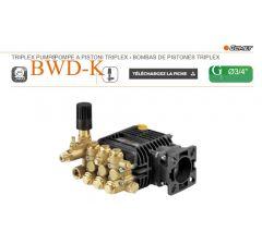 Pompe BWD-K 3020 G à pistons triplex-Comet-G:3/4-Ref: 65210250