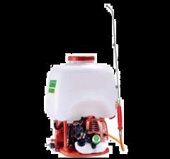 Pulvérisateur à dos moteur thermique Mitsubishi euro 5, 25 litres, 25 bars