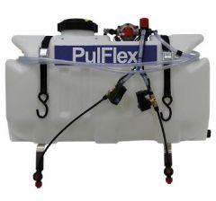 Pulvérisateur quad 98L désherbage vigne pulflex avec électrovannes