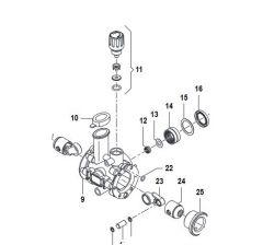 Régulateur MC 8- 15 bar de pression-Comet-Réf:12150638