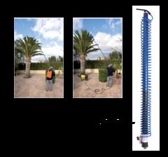Lance de pulvérisation télescopique 9.5 mètres