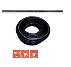 Tuyaux haute pression 100 / 300 Bar Ø 10 intérieur, bobine de 100 m