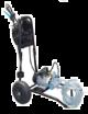 Groupe Motopompe Comet MC18 ACIDE kit avec tuyaux et lance sur chariot