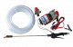 Pompe 12V régulateur, lance et tuyau pour équipement cuve